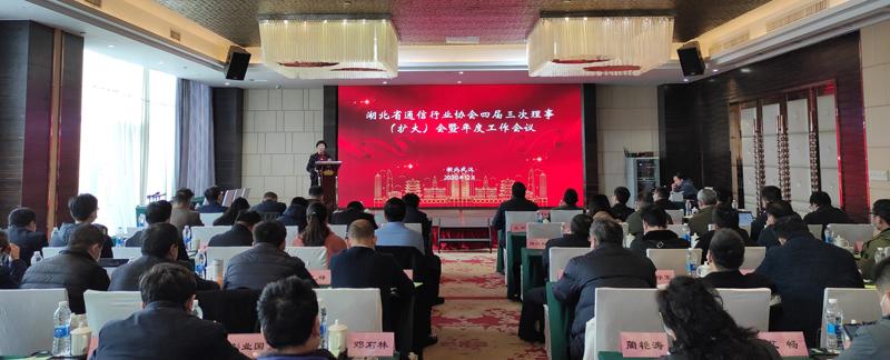 协会召开四届三次理事(扩大)会暨年度工作会议